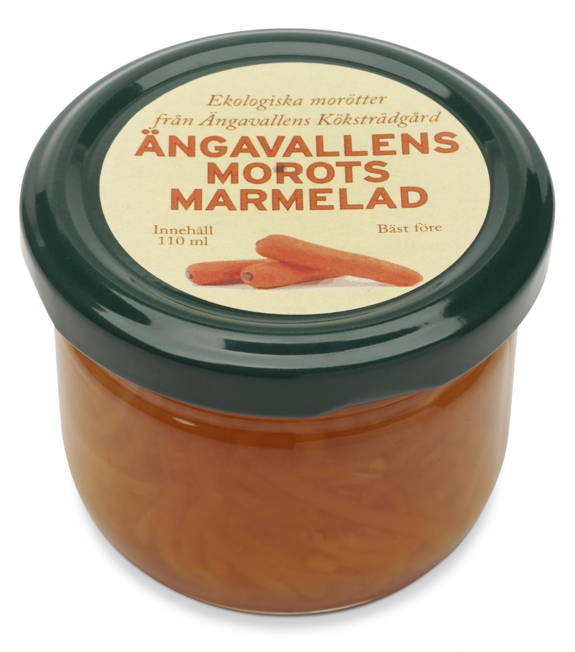 Ängavallens Gula morots marmelad
