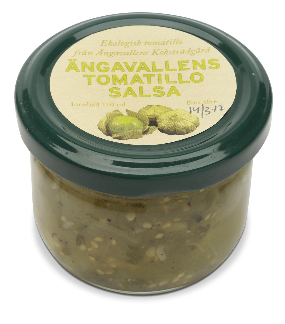 Ängavallens Tomatillo Salsa
